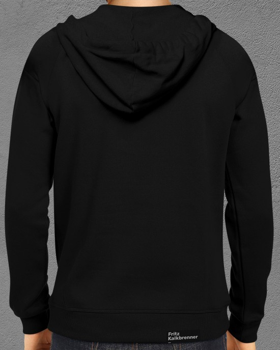 Hoodie with FK logo