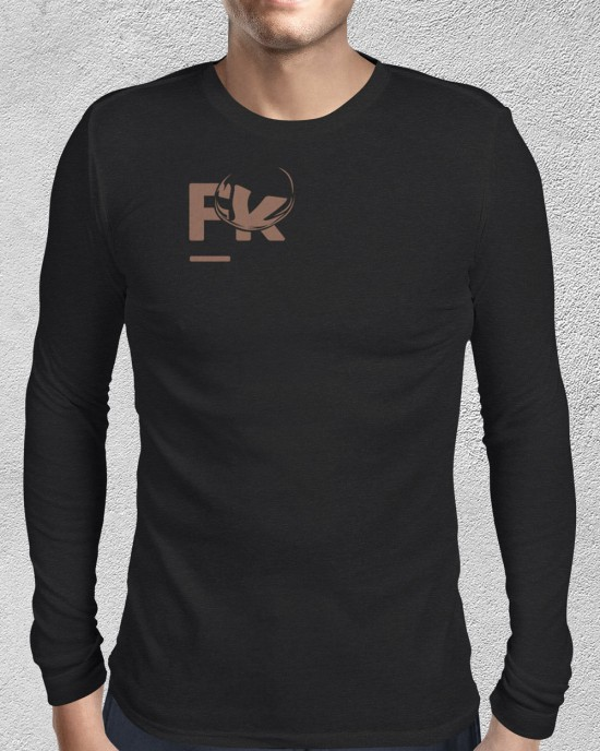 Sweater with FK logo